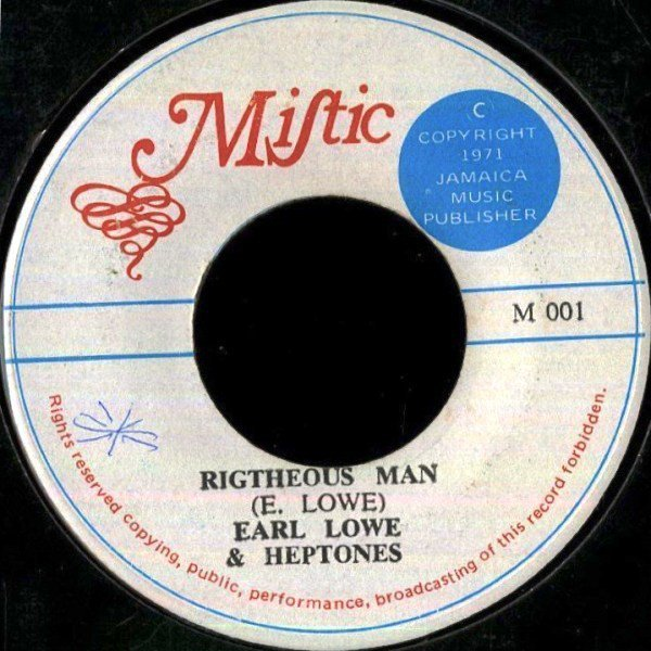 The Heptones - Righteous Man