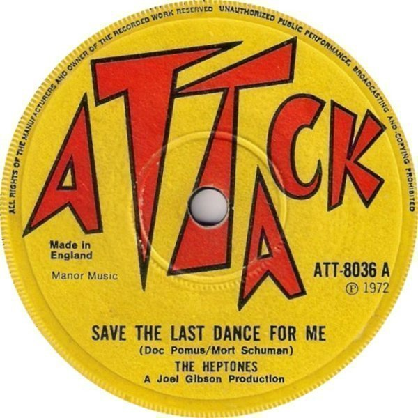 The Heptones - Save The Last Dance For Me / Be The One