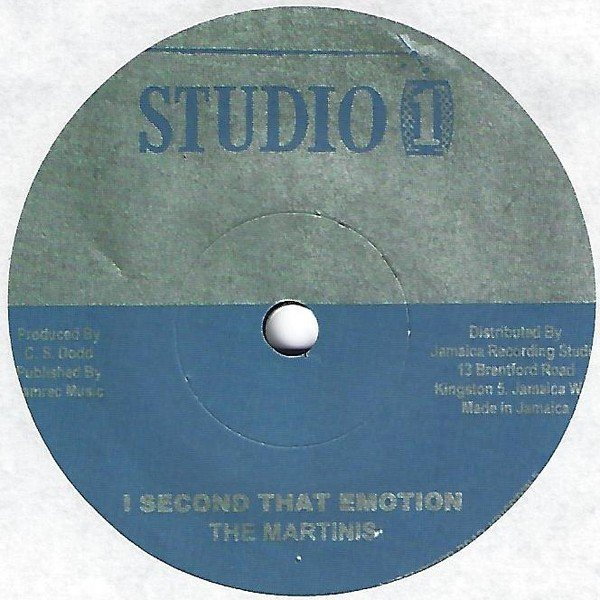 The Heptones - Second That Emotion / Please Be True