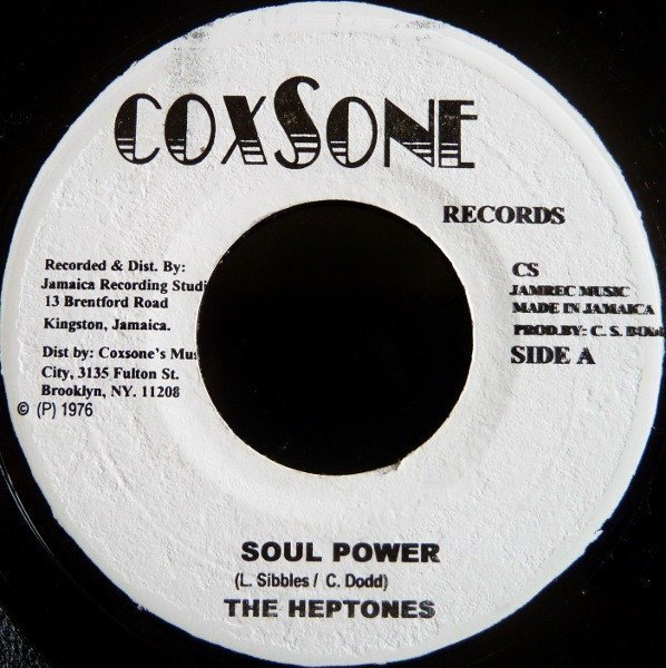The Heptones - Soul Power / Ain
