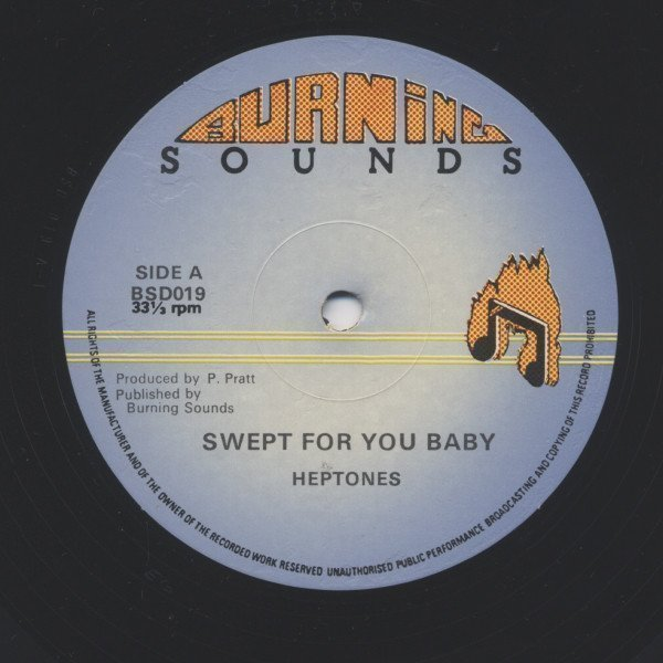 The Heptones - Swept For You Baby / Let Love In