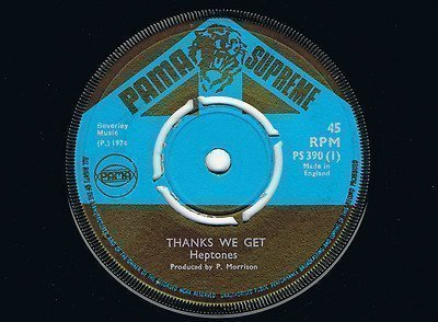 The Heptones - Thanks We Get / Opression