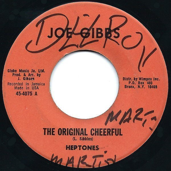 The Heptones - The Original Cheerful / Cheer Up Brother
