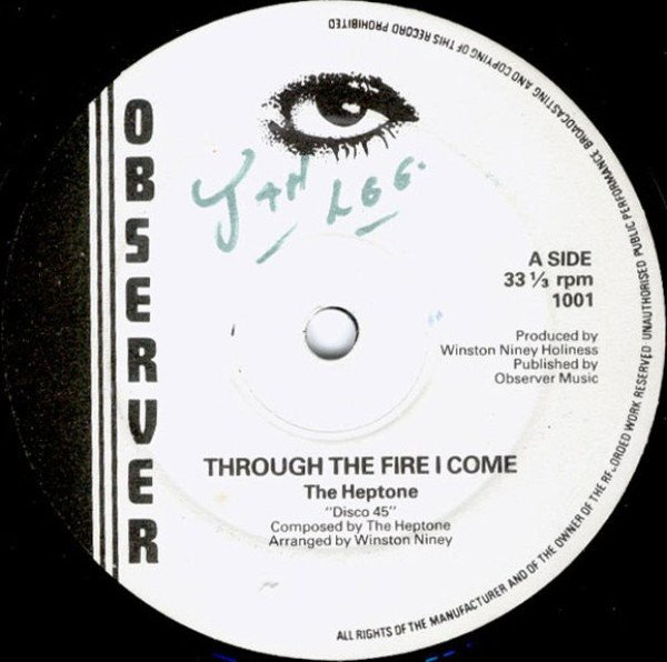 The Heptones - Through The Fire I Come / Move On