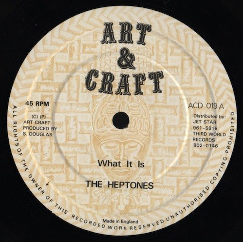 The Heptones - What It Is / Love Got A Hold On Me
