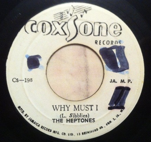 The Heptones - Why Must I / Try Again