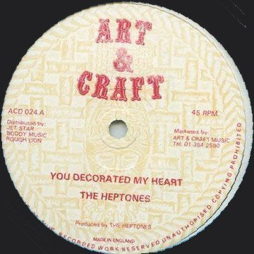 The Heptones - You Decorated My Heart / Down Comes The Rain