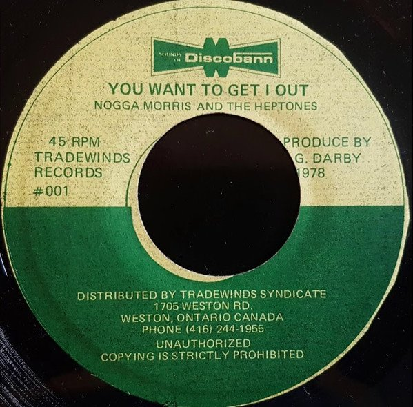 The Heptones - You Want To Get I Out