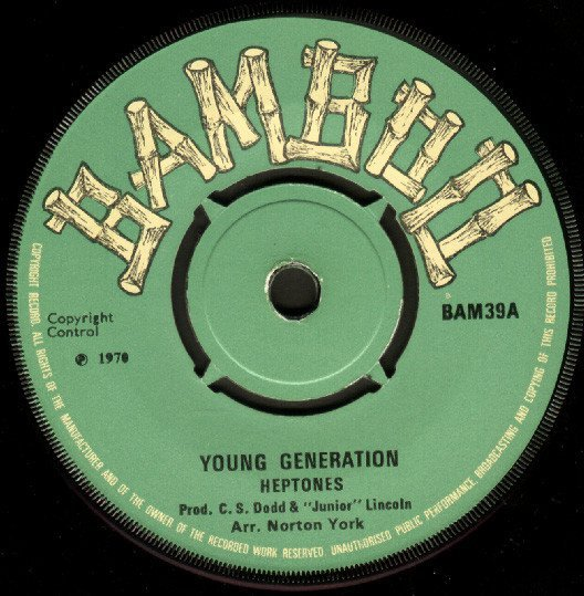 The Heptones - Young Generation / You Turned Away