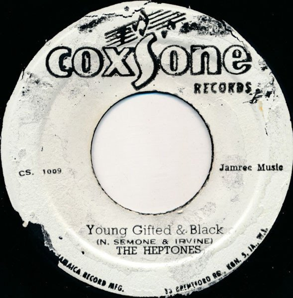 The Heptones - Young Gifted & Black / Reality