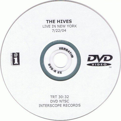 The Hives - Live In New York 7/22/04