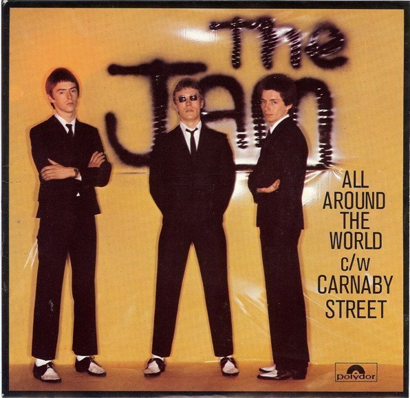 The Jam - All Around The World c/w Carnaby Street