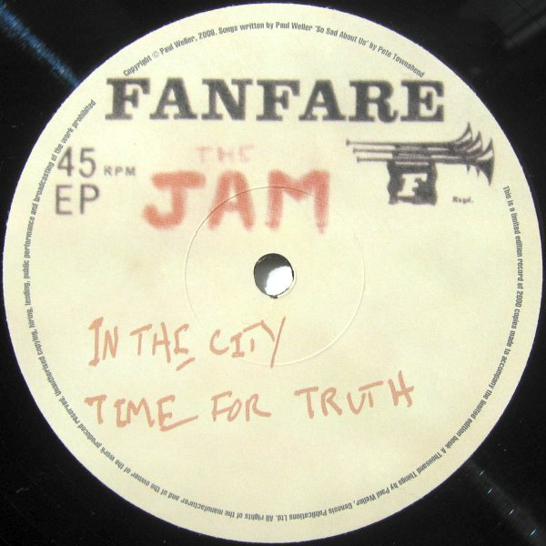 The Jam - Fanfare EP