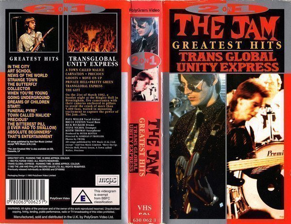 The Jam - Greatest Hits &Trans Global Unity Express