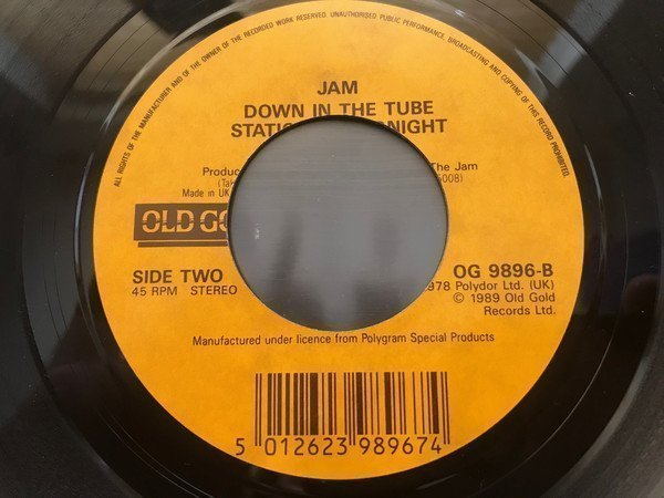 The Jam - The Eton Rifles / Down In The Tube Station At Midnight