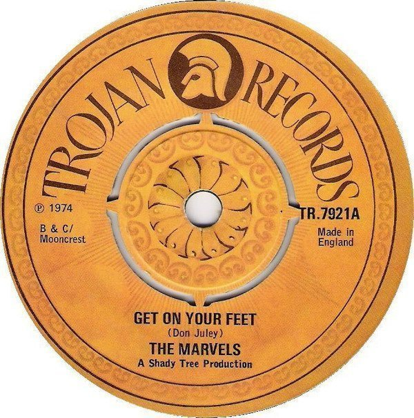 The Marvels - Get On Your Feet / Love Is Here