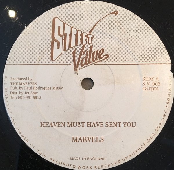 The Marvels - Heaven Must Have Sent You / He Never Fails I Yet