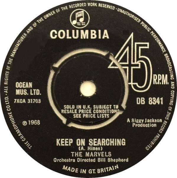 The Marvels - Keep On Searching