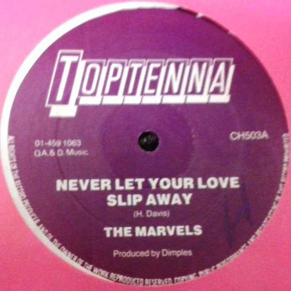 The Marvels - Never Let Your Love Slip Away