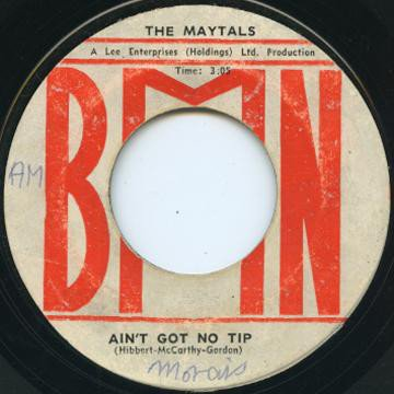 The Maytals - Ain