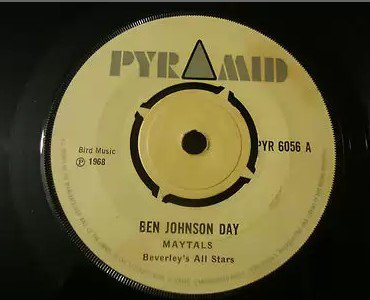 The Maytals - Ben Johnson Day / Ain