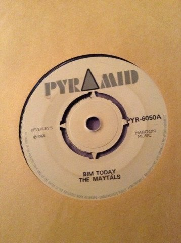 The Maytals - Bim Today / Hold On