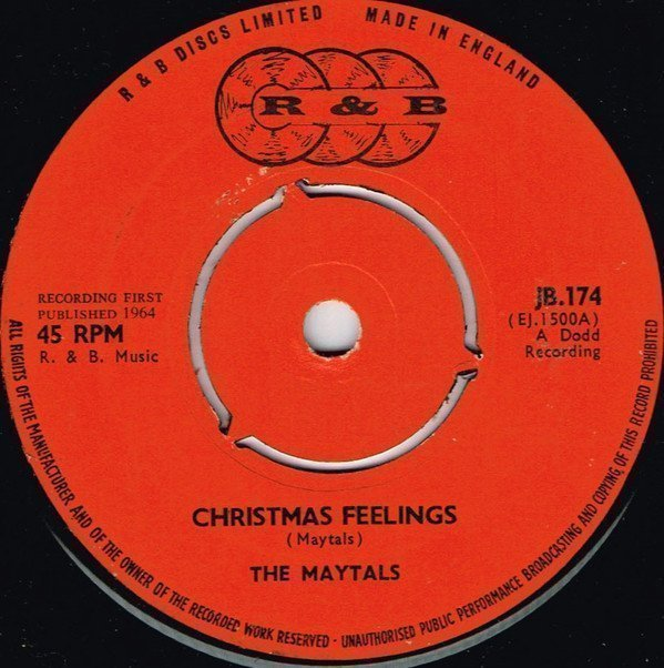 The Maytals - Christmas Feelings / Let