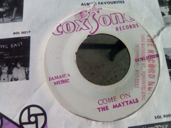 The Maytals - Come On