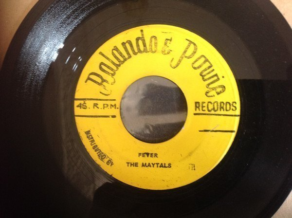 The Maytals - Fever / Cheer up