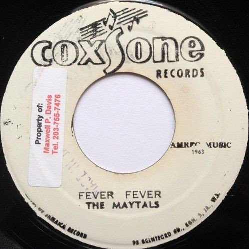 The Maytals - Fever Fever / Village Hap