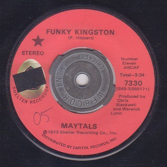 The Maytals - Funky Kingston / Pressure Drop