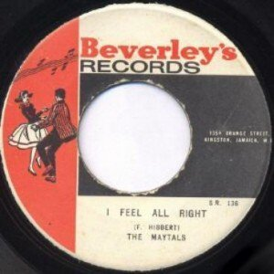 The Maytals - I Feel All Right / Version