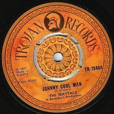 The Maytals - Johnny Cool Man