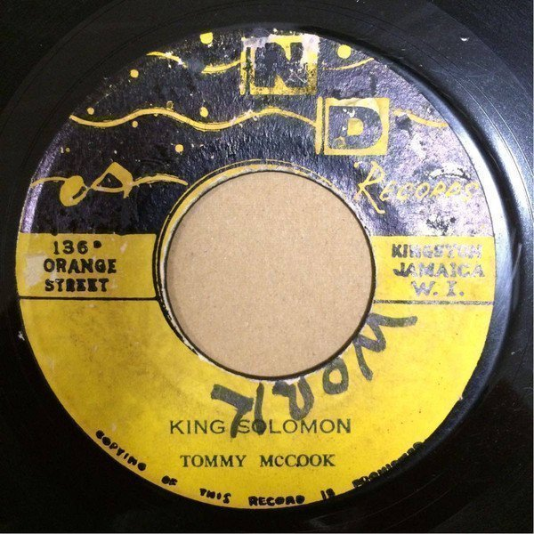 The Maytals - King Solomon / Sinners