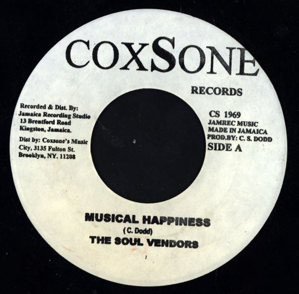 The Maytals - Musical Happiness / What Makes Me Do