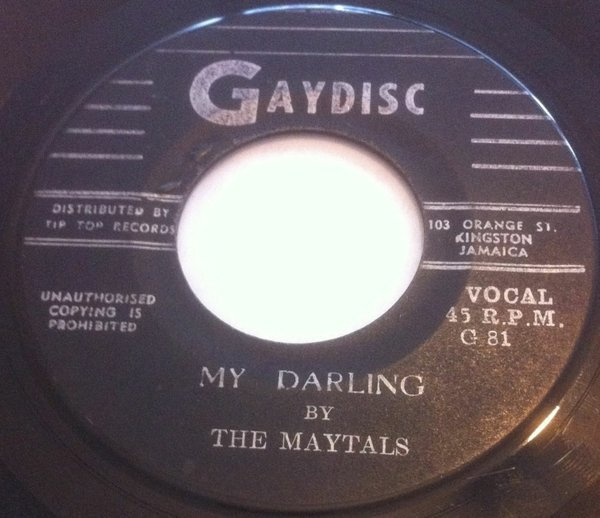 The Maytals - My Darling / Best Friend