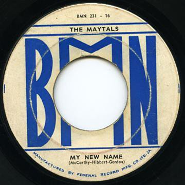 The Maytals - My New Name / It