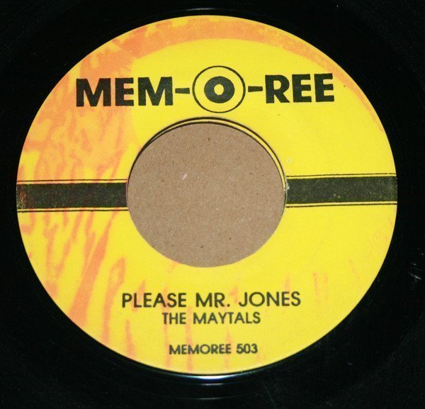 The Maytals - Please Mr. Jones / My Smile Is Just A Frown