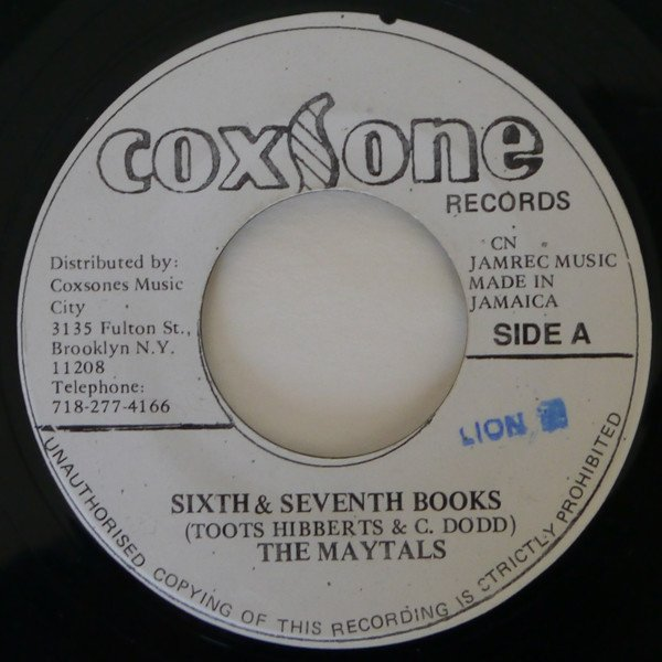 The Maytals - Sixth & Seventh Books