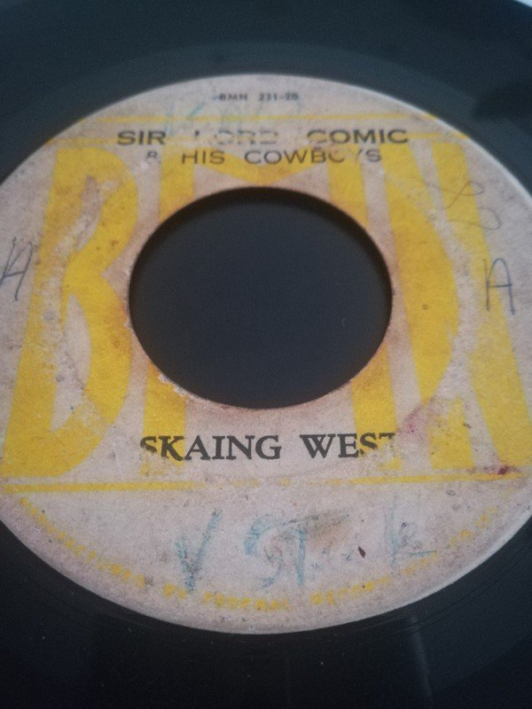 The Maytals - Ska-Ing West (Riding West) / I Just Can