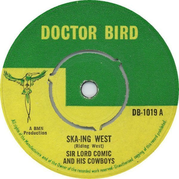 The Maytals - Ska-Ing West (Riding West) / If You Act This Way