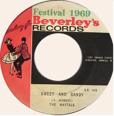 The Maytals - Sweet And Dandy / Oh - Yea