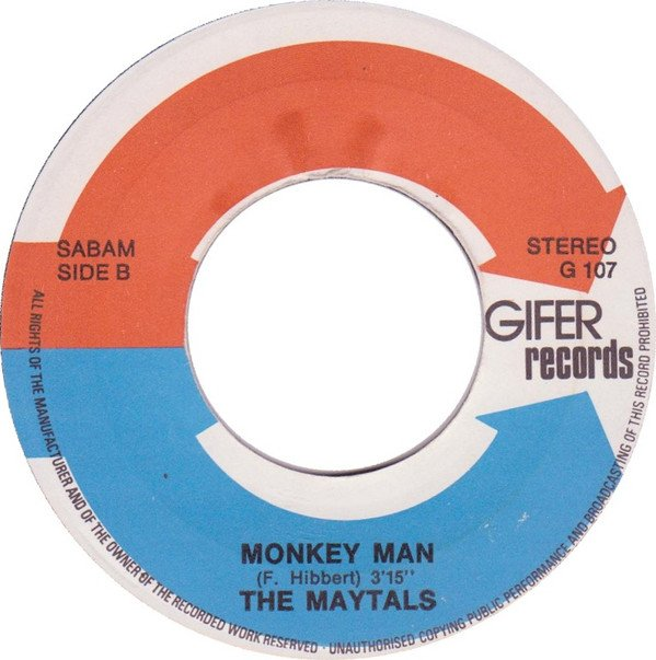 The Maytals - The Preacher / Monkey Man