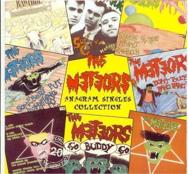 The Meteors - Anagram Singles Collection