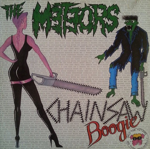 The Meteors - Chainsaw Boogie