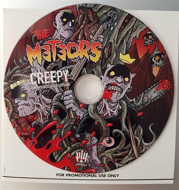 The Meteors - Creepy (Uncensored Color Version)