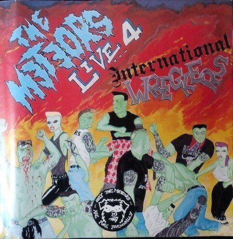 The Meteors - Live 4 ... International Wreckers