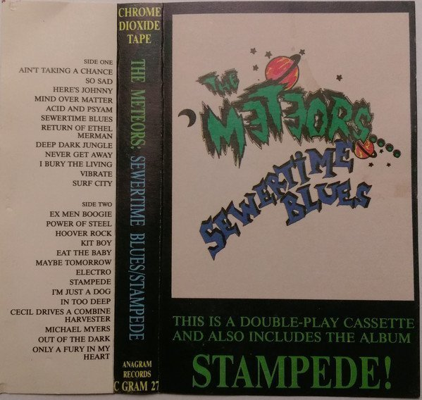 The Meteors - Sewertime Blues-Stampede