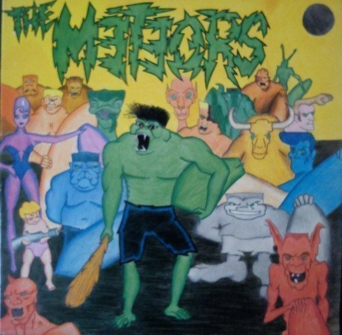 The Meteors - The Mutant Monkey And The Surfers From Zorch