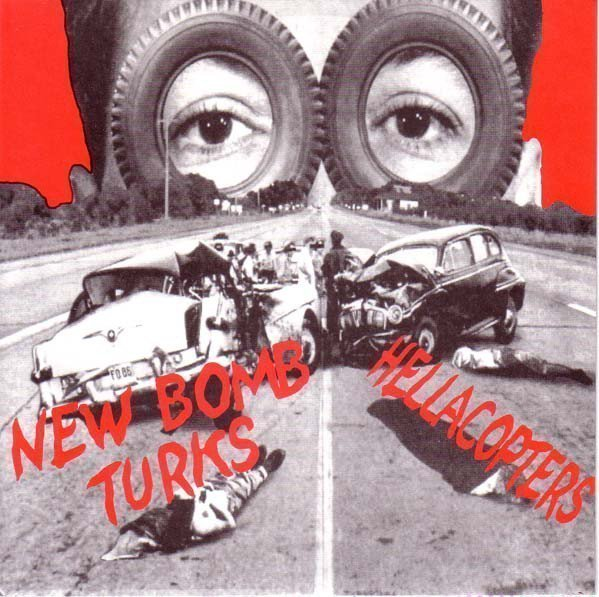 The New Bomb Turks - Lowered Pentangles (Anything At All) / All The Right Places